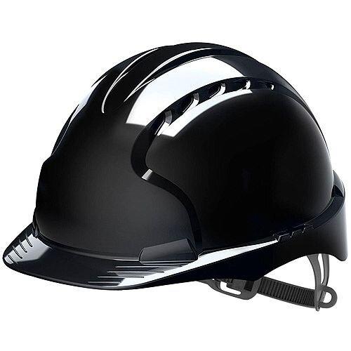 JSP EVO2 Safety Helmet with Slip Ratchet Black