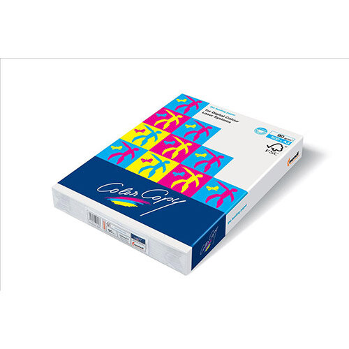 Color Copy Paper Card White A4 210x297mm 250Gm2 Pack 125