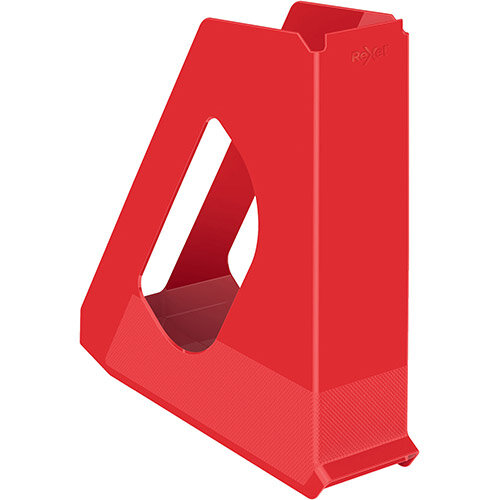 Rexel Choices Magazine File Capacity 60mm Red Ref 2115607