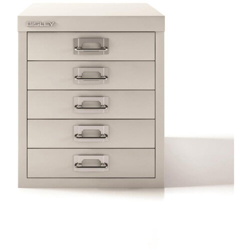 Bisley SoHo Multidrawers 5-Drawers 51mm Drawer Height Chalk White