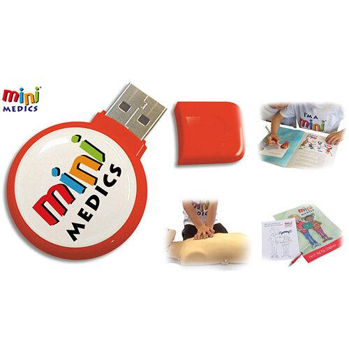 Mini Medics USBB Training Pack with 32 Books &Pencil Set Ref CM1182