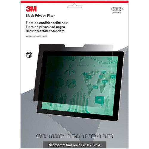 3M Blackout Privacy Filter for MicroSoft Surface Pro 3/ Pro 4 Landscape Ref PFTMS001