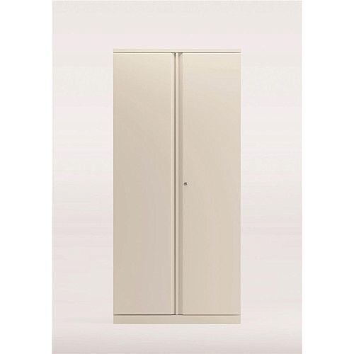 Bisley Two Door Steel Storage Cupboard High 1970mm Cupboard White