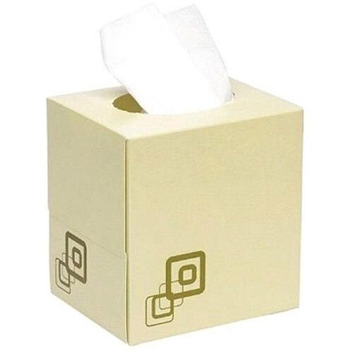 Maxima Facial Tissues Cube 2-Ply 70 Tissues per Box White Pack of 24