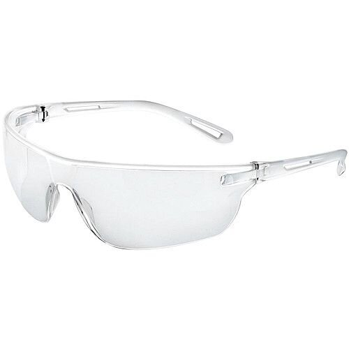 JSP Stealth Safety Spectacles Ultra Thin Lenses 16g Clear Ref ASA920-161-300