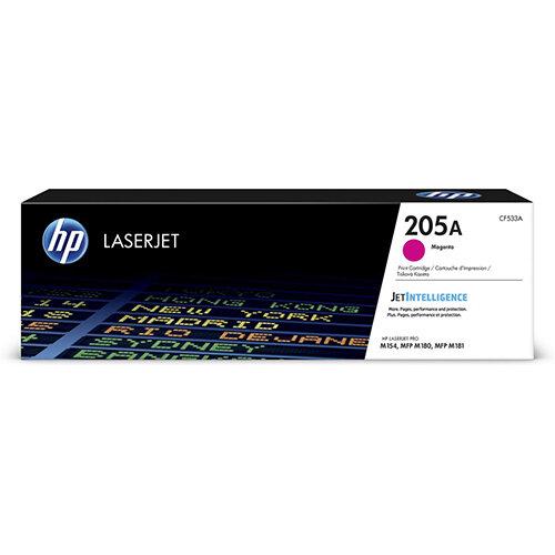 HP 205A Yield: 900 Pages Original LaserJet Toner Cartridge Magenta Ref CF533A