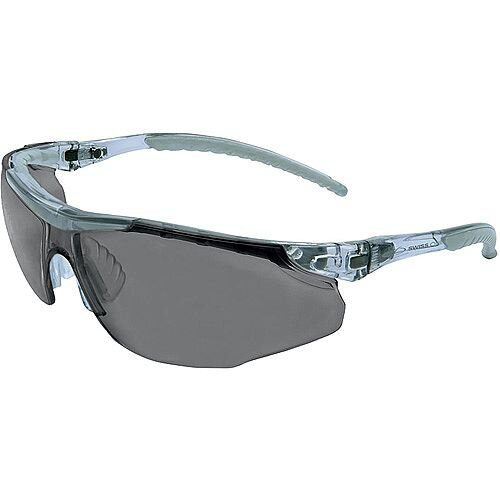 JSP Cayman Adjustable Safety Spectacles with Cord Smoke