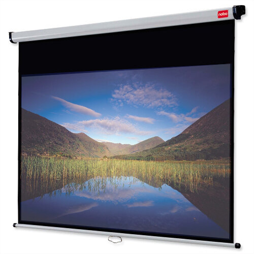 Nobo DLP LCD Projection Screen Widescreen 16:10 W1750 x H1093mm 1902550