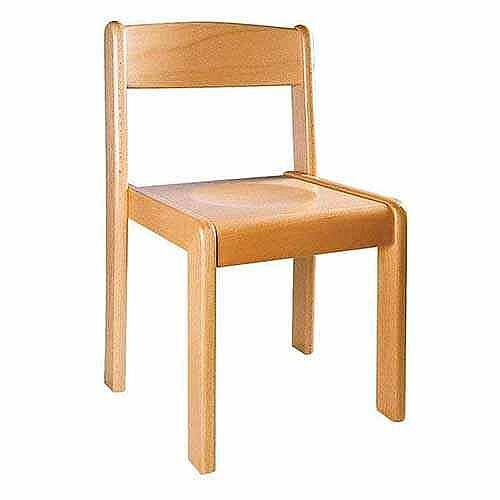 Wooden Chairs 26Cm Natural