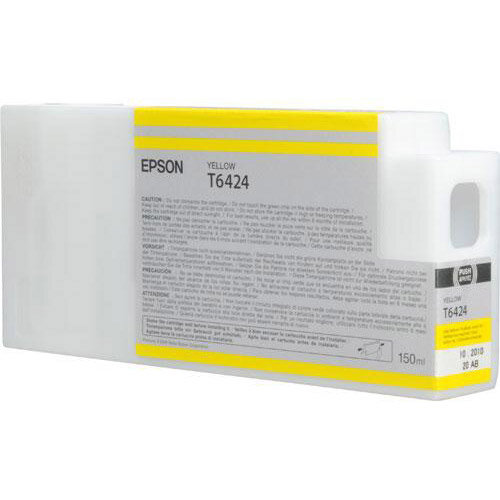 Epson - 150 ml - yellow - original - ink cartridge - for Stylus Pro 7700, Pro 7890, Pro 7900, Pro 9700, Pro 9890, Pro 9900, Pro WT7900
