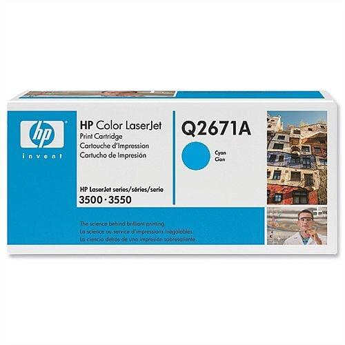 HP 309A Cyan LaserJet Toner Cartridge Q2671A