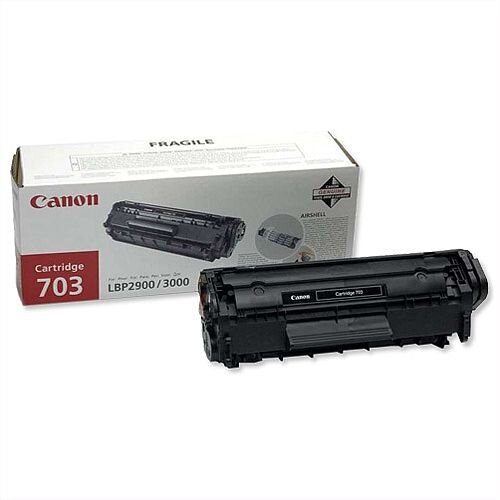 Canon 703 Black Laser Toner Cartridge 7616A005
