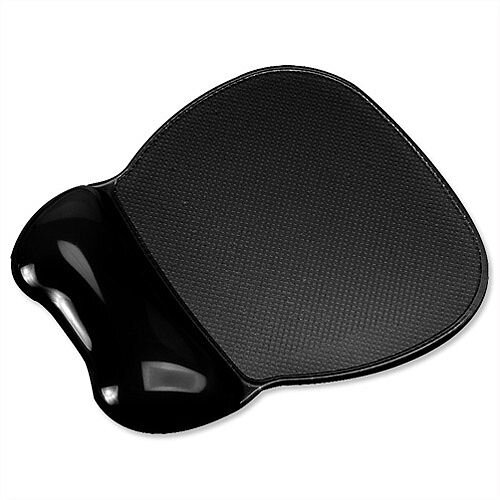Wrist Rest Mouse Mat Pad Gel Black GL200K