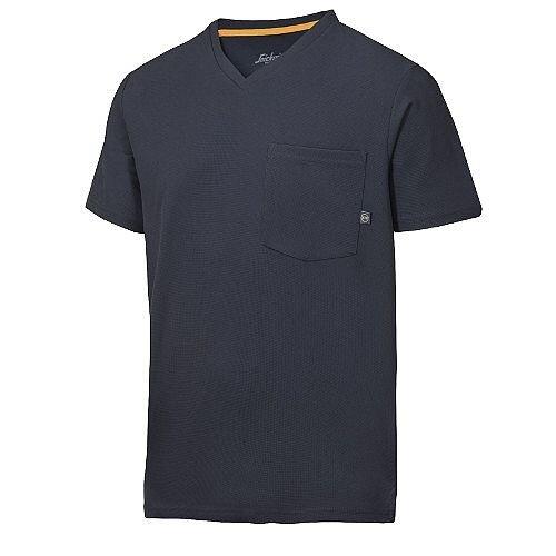 Snickers 2524 AllroundWork 37.5 Technology Short Sleeve T-Shirt WW4 Navy