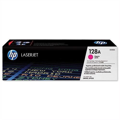 HP 128A Magenta Laser Toner Cartridge CE323A