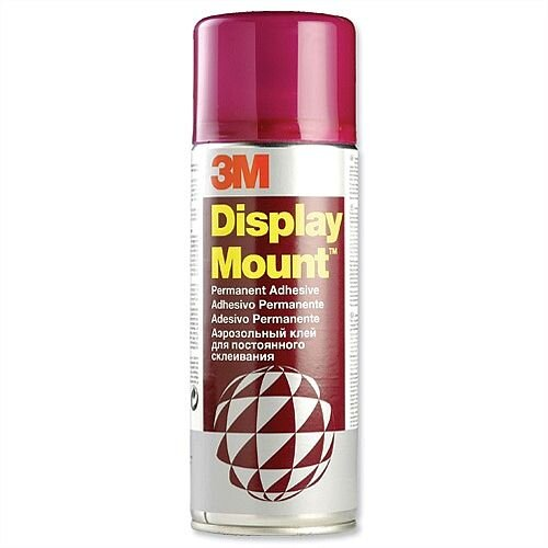 3M Display Mount Adhesive Spray Can Instant Hold 400ml DMOUNT