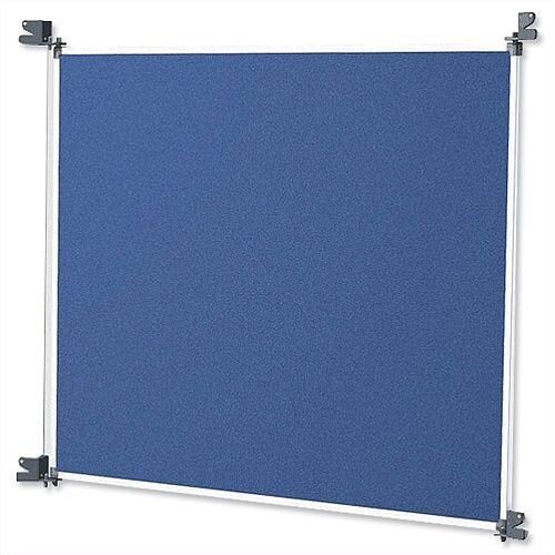 Nobo Modular Display System Panel Blue Grey 1902218