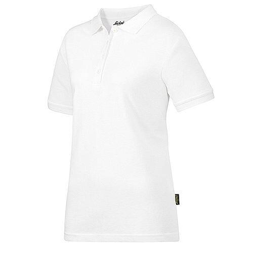 Snickers 2702 Women's Polo Shirt Size XS White