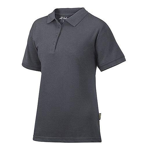 Snickers 2702 Women's Polo Shirt Size XS Steel Grey