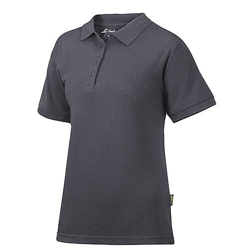 Snickers 2702 Women's Polo Shirt Size M Steel Grey