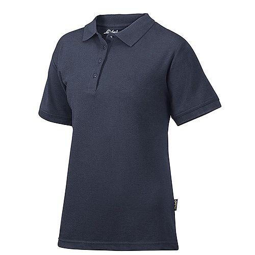 Snickers 2702 Women's Polo Shirt Size L Navy