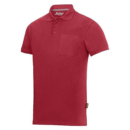 Snickers 2708 Classic Polo Shirt XS Regular Chili red - 1600