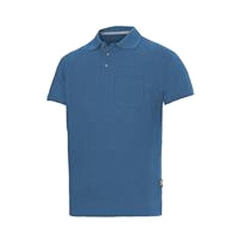 Snickers Classic Polo Shirt Ocean Blue Size: XXL 27081700008