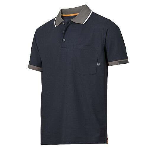 Snickers 2724 AllroundWork 37.5 Technology Short Sleeve Polo Shirt WW4 Navy