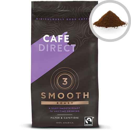 Cafedirect Medium Roast Ground Filter Coffee Fairtrade 227g Ref A06728