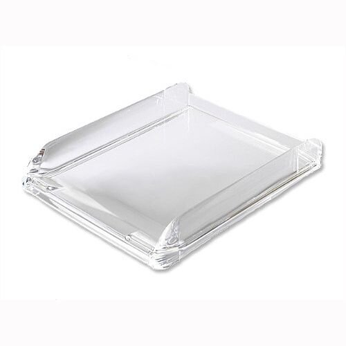 Rexel Nimbus Clear Self Stacking Letter Tray Acrylic 2101504