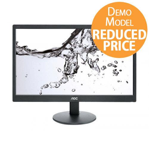"""[Demo Model] AOC E970SWN - LED Computer Monitor - 18.5"""" Black"""