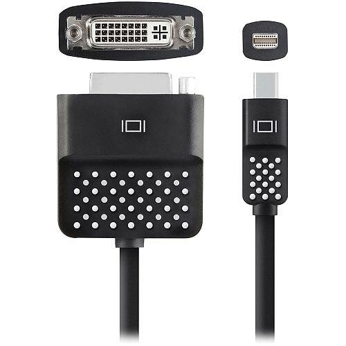 Belkin Mini DisplayPort to DVI-I Dual Link Adapter 0.13m Black