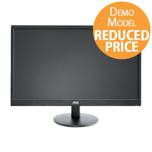 """[Demo Model] AOC E2470SWDA - LED Computer Monitor - 23.6"""""""
