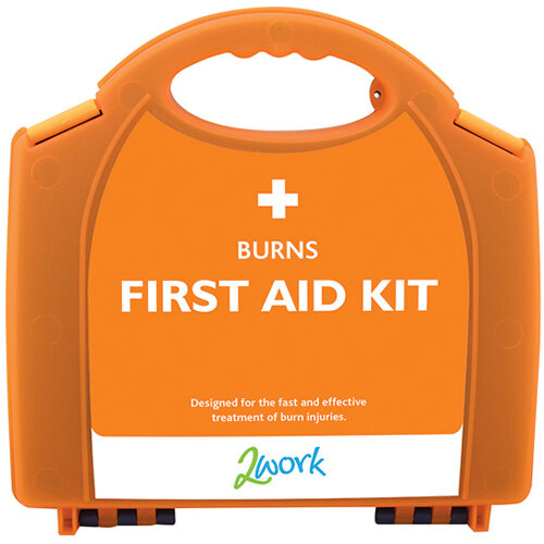 2Work Burns First Aid Kit X6090