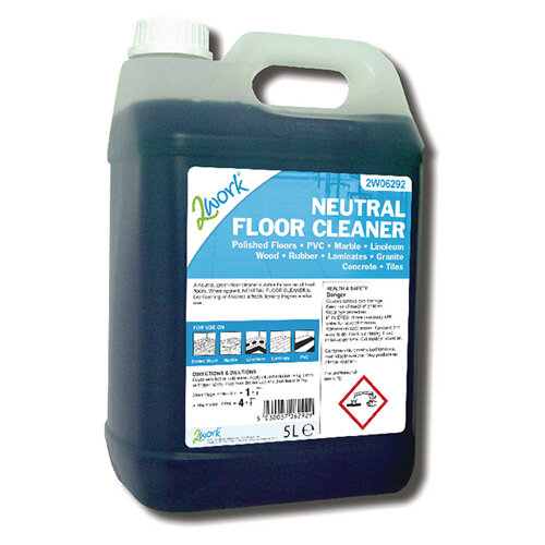 2Work Neutral Floor Cleaner 5 Litre 498 TFN