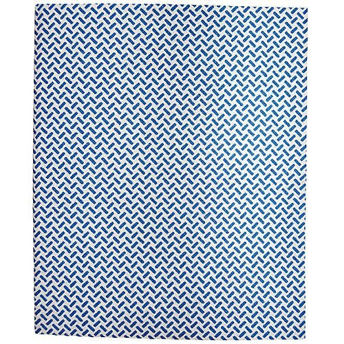 2Work Medium Weight Colour Coded Cleaning Cloths Blue 38x40cm Pack of 5 CCGM4005I
