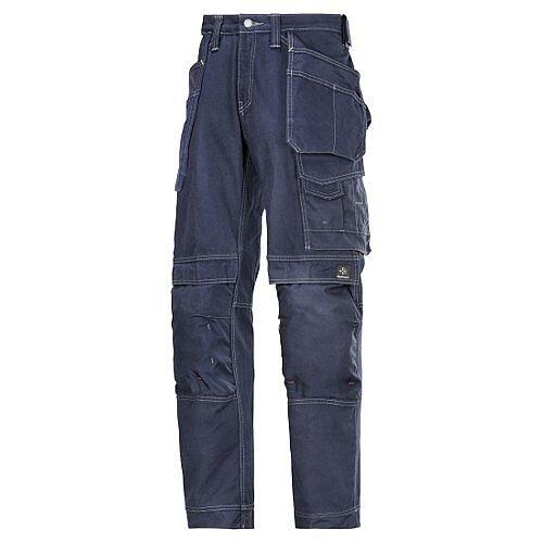 "Snickers Cotton Trousers Navy Waist 33"" Inside leg 28"" WW1"