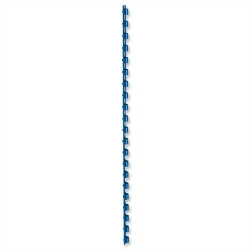 Binding Combs Plastic 21 Ring 35 Sheets A4 6mm Blue Pack 100 5 Star