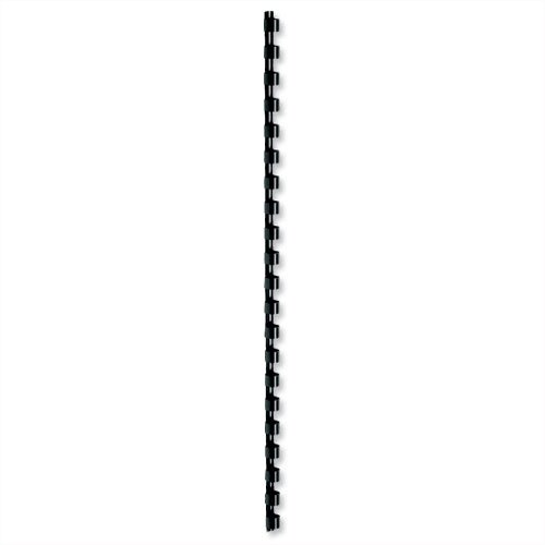 5 Star Binding Combs Plastic 21 Ring 75 Sheets A4 10mm - Colour: Black - (Pack 100)