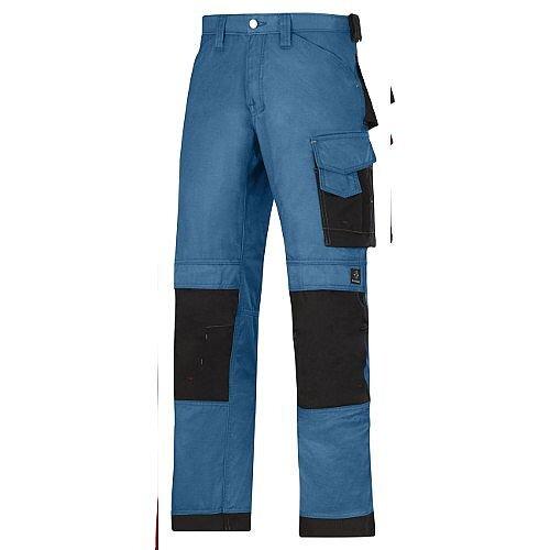 """Snickers DuraTwill Trousers Ocean Waist 33"""" Inside leg 35"""" WW1"""