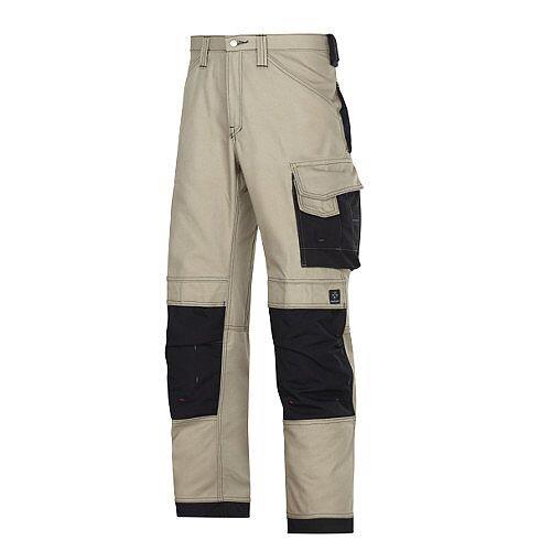 "Snickers Canvas Plus Trousers Khaki Waist 33"" Inside leg 37"" WW1"