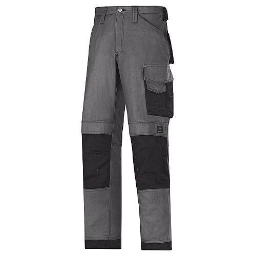 """Snickers Canvas Plus Trousers Steel Grey Waist 28"""" Inside leg 32"""" WW1"""
