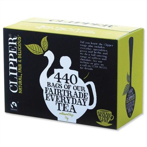 Clipper Fairtrade Golden Blend Everyday Tea Bags A06816 Pack 440