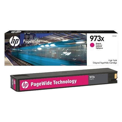 HP 973X Magenta High Capacity PageWide Ink Cartridge F6T82AE