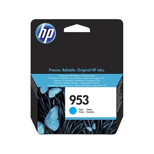 HP 953 Cyan Standard Yield Ink Cartridge F6U12AE