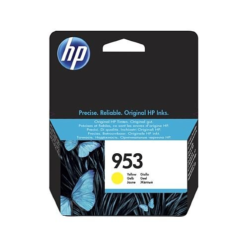 HP 953 Yellow Standard Yield Ink Cartridge F6U14AE