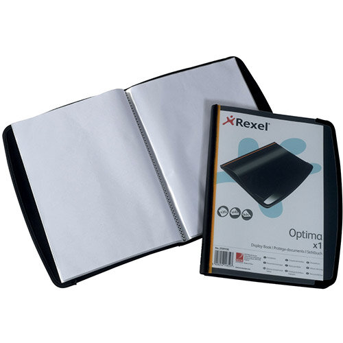 Rexel 20 Pocket Professional Display Book A4 Pack of 12 2101130