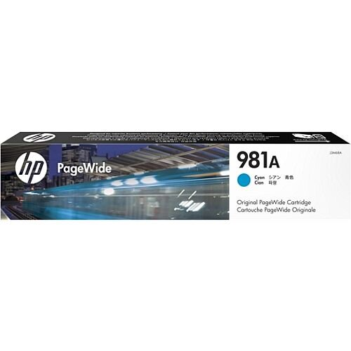 HP 981A Cyan PageWide Ink Cartridge J3M68A