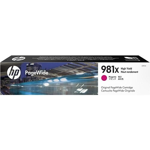 HP 981X Magenta High Capacity PageWide Ink Cartridge L0R10A