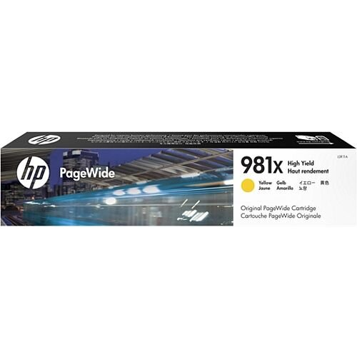 HP 981X Yellow High Capacity PageWide Ink Cartridge L0R11A
